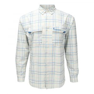 Elements Coolcore Button UP Blue Striped