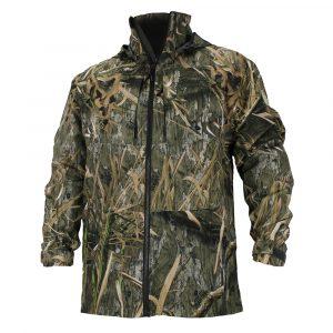 habitat rain jacket front