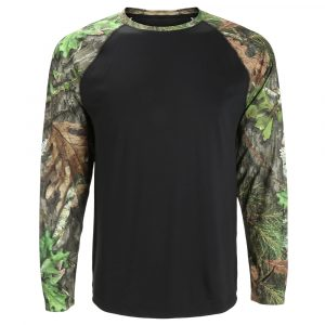 Mossy Oak Obsession and Black Long Sleeve