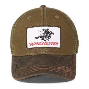 Winchester Horse and Rider Patch Cap