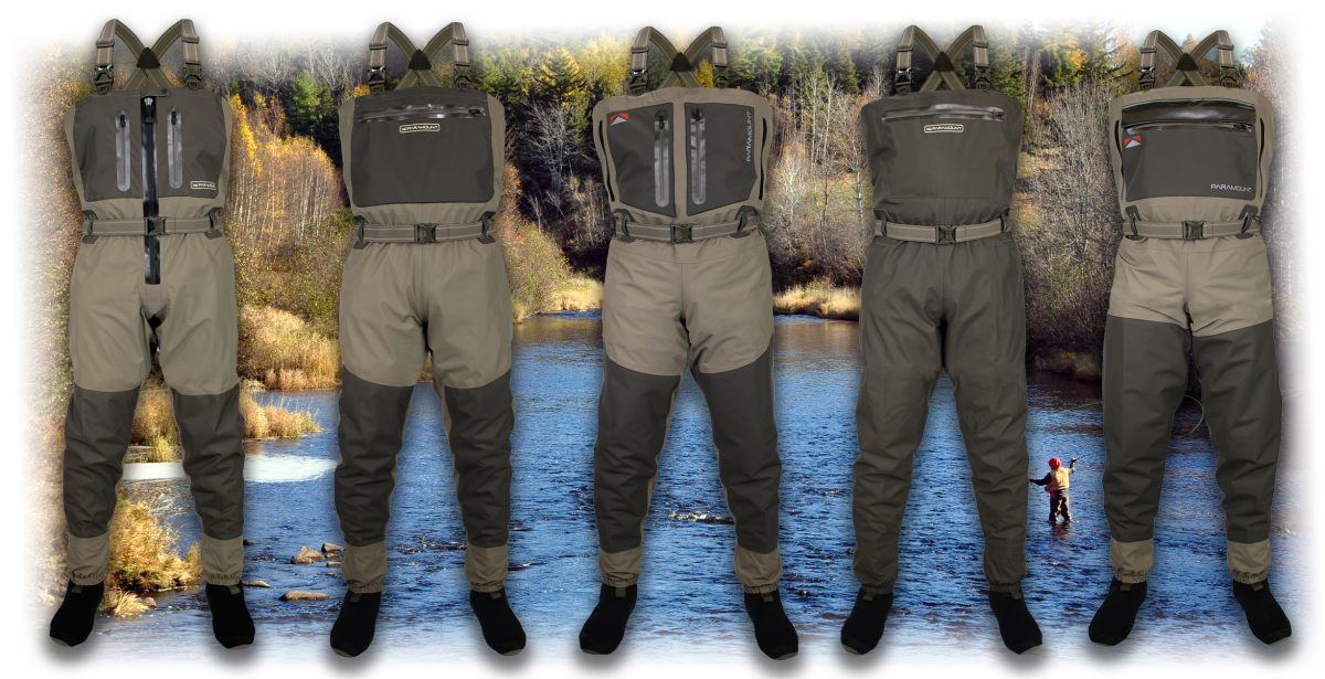 New 2021 Breathable Waders by Paramount Outdoors